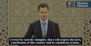 Syrian President Bashar Al Assad's Inaugural Speech